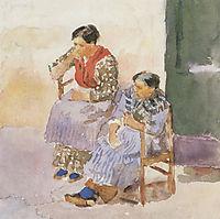 Italian women, 1884, surikov