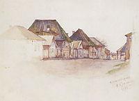 Krasnoyarsk. Kachinskaya street., 1893, surikov