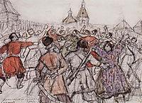 Krasnoyarsk rebellion, 1902, surikov