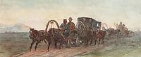 Minusinsk. On the way., 1873, surikov