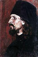 Monk, c.1907, surikov