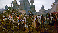 Morning of the Strelets' Execution, 1881, surikov