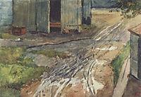 Moscow yard, 1880, surikov