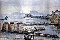Naples. Enbankment., 1884, surikov