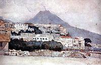 Naples. Vesuvius., 1884, surikov