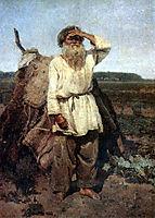 The old gardener, 1882, surikov
