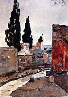 Pompey. Street., 1884, surikov