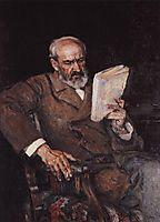 Portrait of doctor A. D. Yesersky, 1910, surikov
