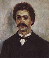 Portrait of A. I. Surikov, c.1889, surikov
