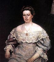 Portrait of A. P. Yurgenson, 1908, surikov