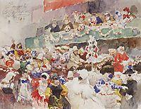 Roman Carnival, 1884, surikov
