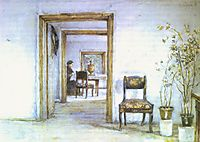Room in Surikov-s house, c.1890, surikov