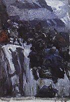Russian Troops under Suvorov Crossing the Alps (study), 1899, surikov