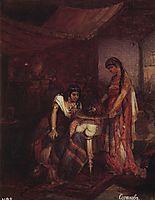Salome brings head of Saint John the Baptist to her mother Herodias, 1872, surikov