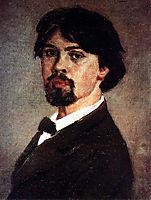 Self-Portrait, 1879, surikov