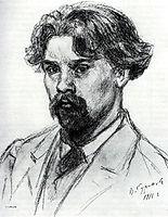 Self-Portrait, 1910, surikov