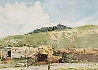 Siberian landscape. Torgoshyno., 1873, surikov