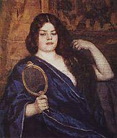 Siberian woman, 1909, surikov