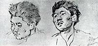 Study of khakasy, c.1892, surikov