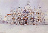 Venice. Saint Mark-s Basilica., 1884, surikov