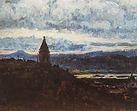 View of Krasnoyarsk, 1887, surikov