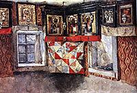 Village altapiece, c.1885, surikov