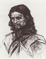 Wanderer, c.1886, surikov