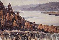Yenisey near Krasnoyarsk, 1909, surikov