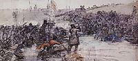 Yermak-s conquest of Siberia (study), c.1891, surikov