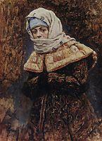 Young lady, 1886, surikov