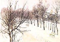 Zubovsky boulevard in winter, c.1881, surikov