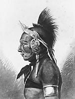 An Osage Warrior, c.1812, svinyin