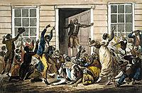 Black Methodists Holding a Prayer Meeting, c.1812, svinyin