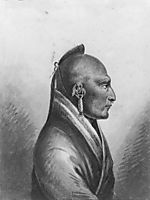 The Chief of the Little Osages, c.1812, svinyin