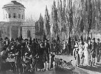 Fourth of July in Centre Square, c.1812, svinyin