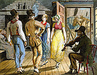 Merry Making at the Wayside Inn, 1812, svinyin