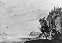 The Monument to Alexander Hamilton at Weehawken, c.1812, svinyin