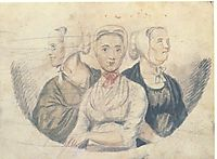 Moravian Sisters, c.1812, svinyin