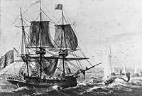 Replenishing the Ship-s Larder with Codfish off the Newfoundland Coast, c.1812, svinyin