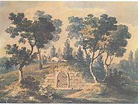 The tomb of George Washington, c.1812, svinyin