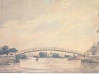The Upper Bridge over the Schuylkill, c.1812, svinyin