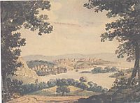 View of Washington, c.1812, svinyin