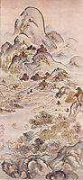 Fishing in Springtime, 1747, taiga