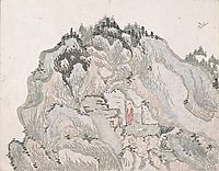 Untitled (a cave halfway up the mountain), taiga