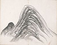 Untitled (Two Mountains), taiga