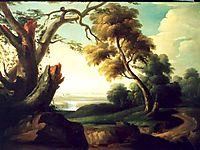 Peisaj cu arbore frânt, tattarescu