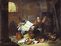 The Alchemist, teniers