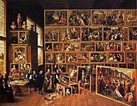 Archduke Leopold-s Gallery, 1651, teniers