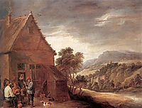 Before the Inn, teniers