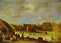 A Bleaching Ground, teniers